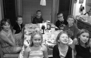 Thanksgiving Day 2012 with the cousins